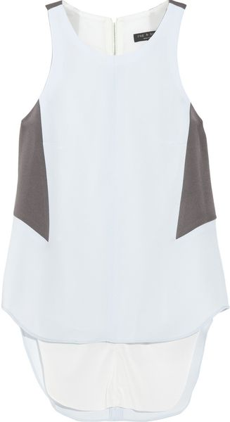 Rag & Bone Adeline Colorblock Chiffon Top - Lyst
