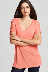 Vince Top Scoop Neck - Lyst