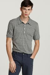 Abbot & Main Short Sleeve Polo Slim Fit - Lyst