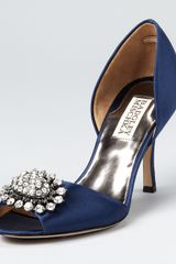 Badgley Mischka Pumps Lacie Dorsay - Lyst