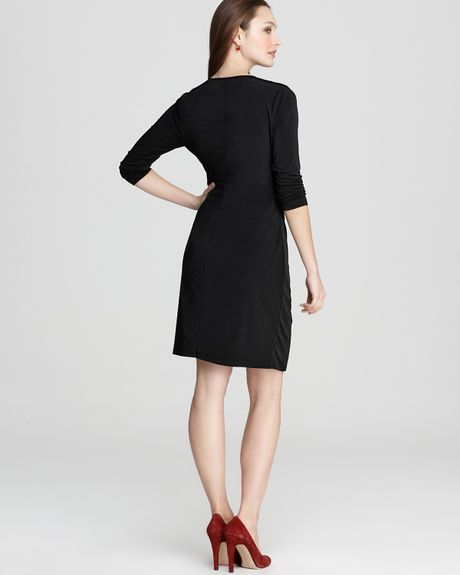 Klein Exposed Zipper Dress