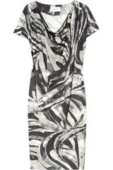 Emilio Pucci Printed Silkjersey Dress - Lyst
