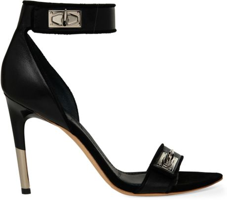 Givenchy Miro Sandals in Black - Lyst