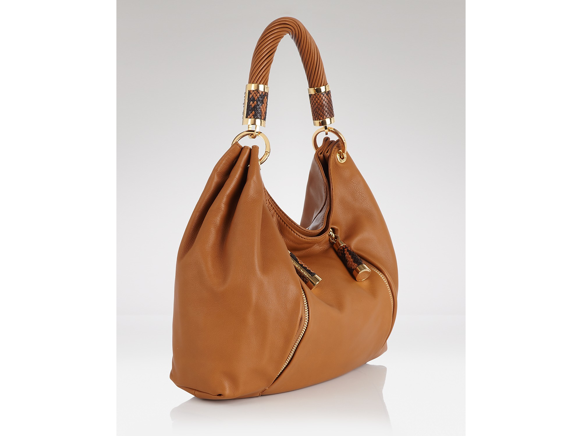 purchase michael kors tonne hobo barley leather golden co b4a67 9531e rh seansinjin com
