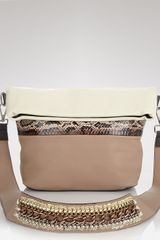 Hobo Isabella Fiore Crossbody El Paso Lacey Small in Brown (natural) - Lyst