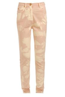 House Of Holland Bleach Splattered Denim Jeans - Lyst