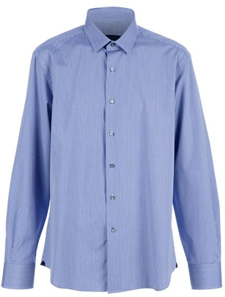 Lanvin Classic Shirt in Blue for Men - Lyst