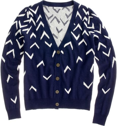 Madewell Seabird Cardigan in Blue (juniper berry) - Lyst