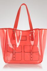 Marc By Marc Jacobs Werdie Clear Solids Tote  - Lyst