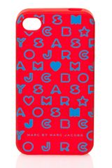 Marc By Marc Jacobs Iphone Case 4g Stardust Logo - Lyst