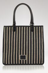 Marc By Marc Jacobs Stripey Straw Sami Tote  - Lyst