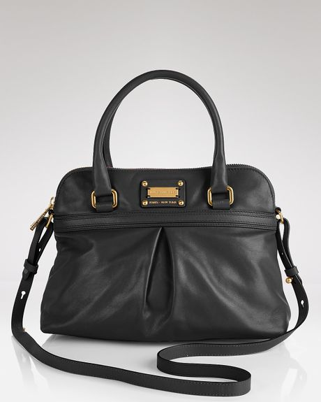 Marc Jacobs Palais Royal Park Satchel in Black - Lyst
