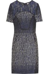 Matthew Williamson Patchwork Jacquard Shift Dress - Lyst