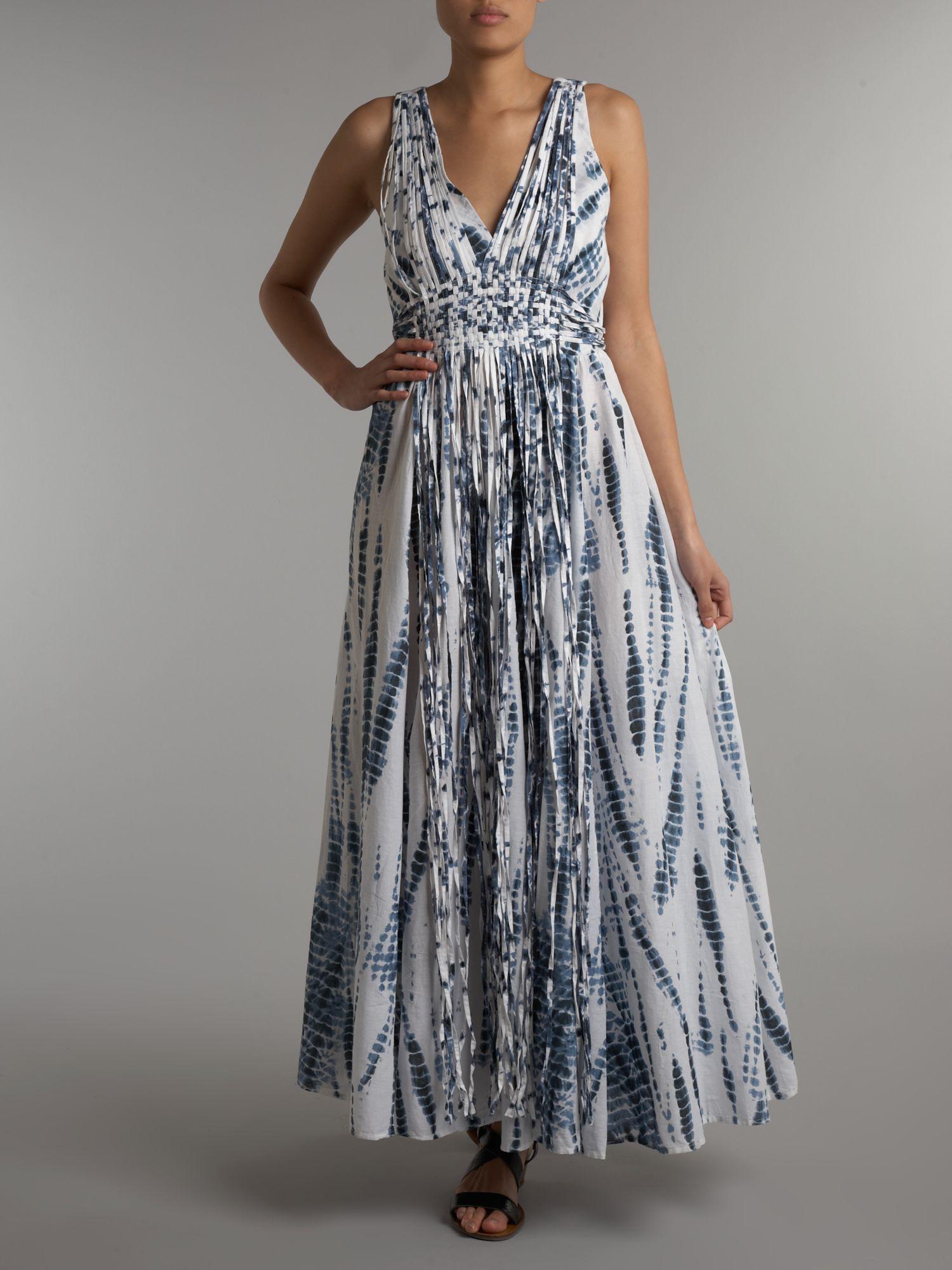 Michael Kors Tie Dye Maxi Dress Online Uk