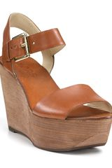 Michael Kors Kors Xaria Platform Wedge Sandals - Lyst