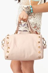 Nasty Gal Empire Leather Bag - Lyst