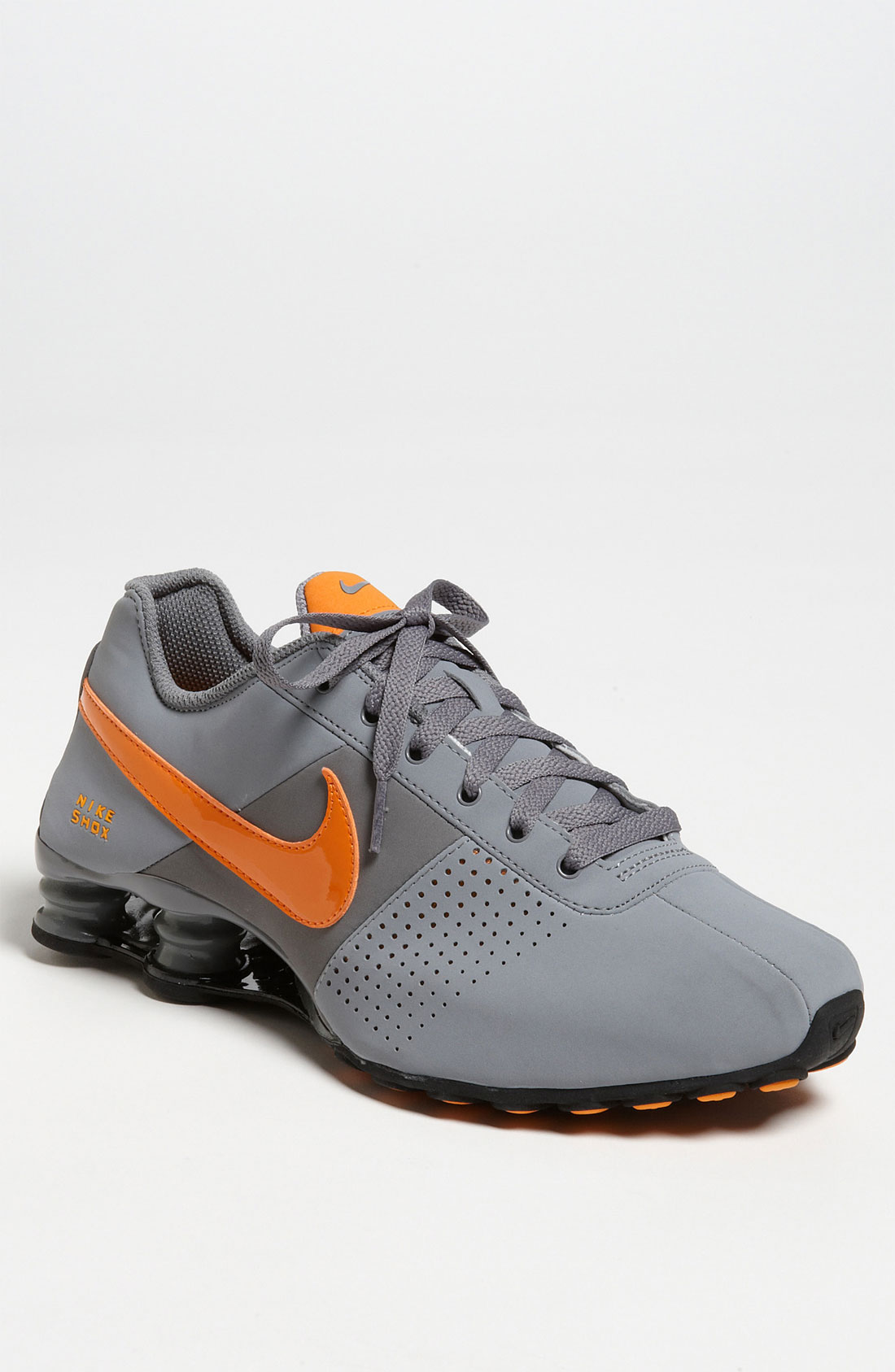 Nike Shox Deliver Grey Orange