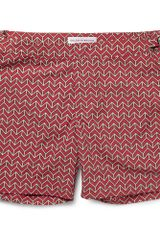 Orlebar Brown Bulldog Mid Length Printed Swim Shorts - Lyst