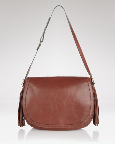 See By Chloé See By Chloé Twin Tassels Shoulder Bag in Brown (mocha) - Lyst