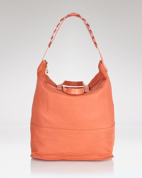 See By Chloé Bryoni Large Double Function Tote in Orange (watermelon) - Lyst