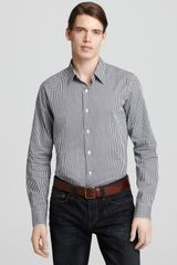 Theory Sylvain Amiacable Gingham Sport Shirt Slim Fit - Lyst