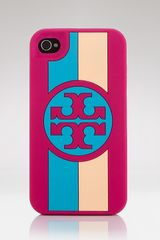 Tory Burch Iphone Case Roslyn Logo Stripe