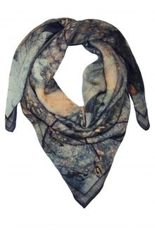 Wrq.e.d Pigs On The Wings Wool Scarf - Lyst