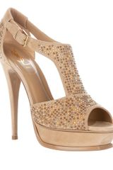 Yves Saint Laurent Studded Shoe - Lyst