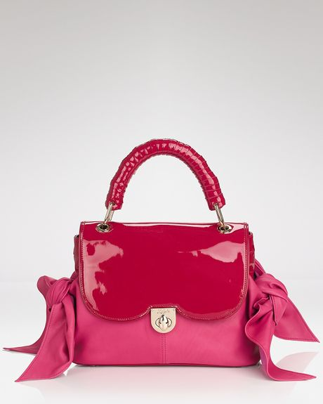 Z Spoke By Zac Posen Satchel Nappa Zac Sac in Pink (dahlia) - Lyst