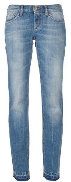 D&g Straight Leg Jean in Blue