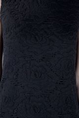 Dolce & Gabbana Shift Dress in Black - Lyst