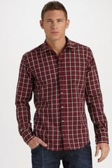 Dolce & Gabbana Classic Sport Shirt Plaid in Brown for Men - Lyst