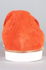 Dv By Dolce Vita The Marcel Shoe in Orange Red in Orange - Lyst