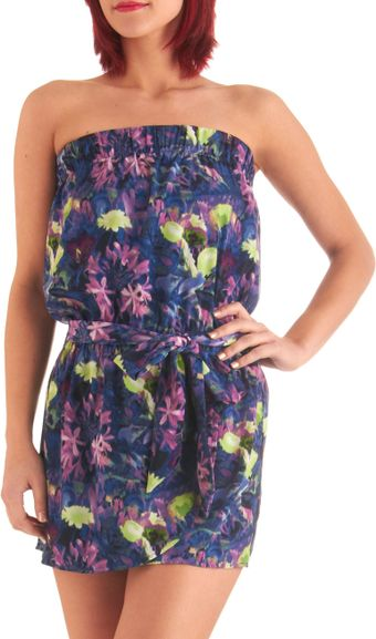 ModCloth High Fashion Flora Romper - Lyst