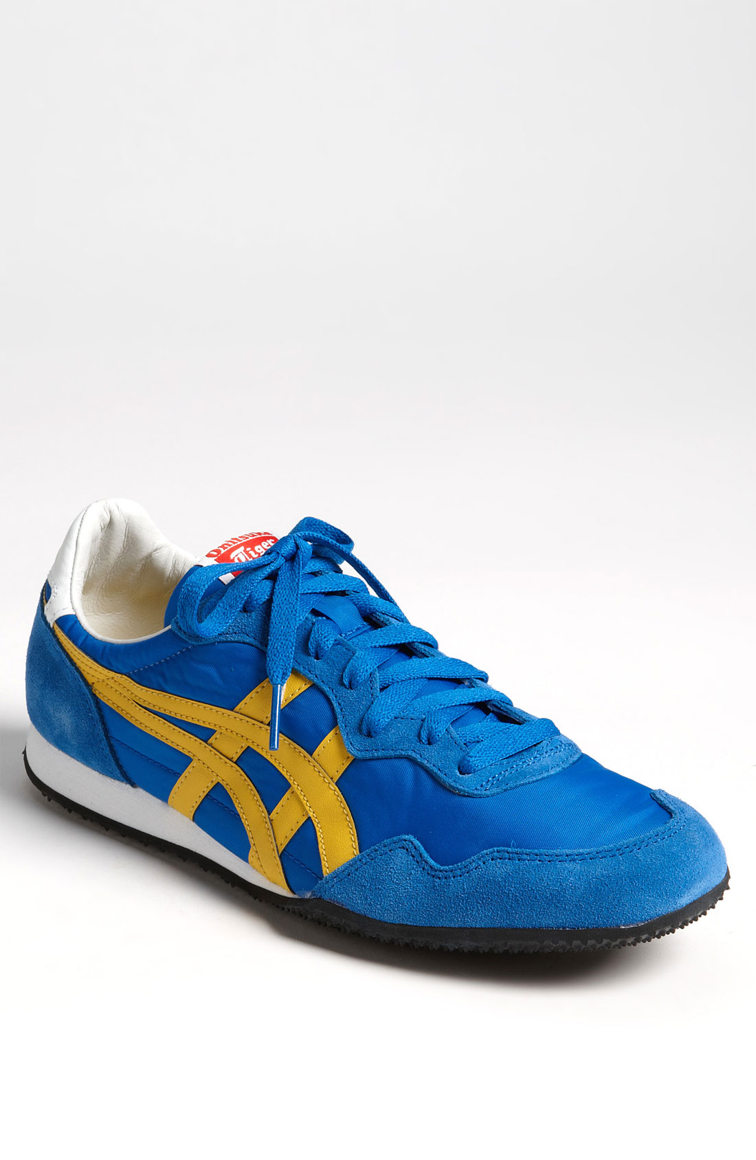 Onitsuka Tiger Serrano Sneaker in Blue for Men (blue/ yellow) | Lyst