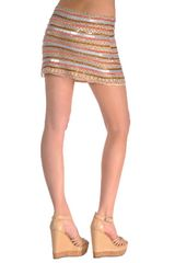 Parker Beaded Skirt - Lyst