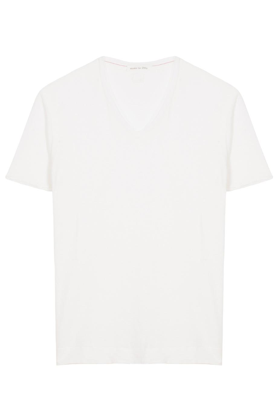 T shirt plain white back - Gallery