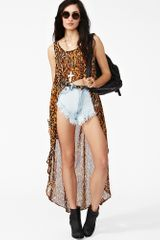 Nasty Gal Eye Of The Tiger Tank - Lyst