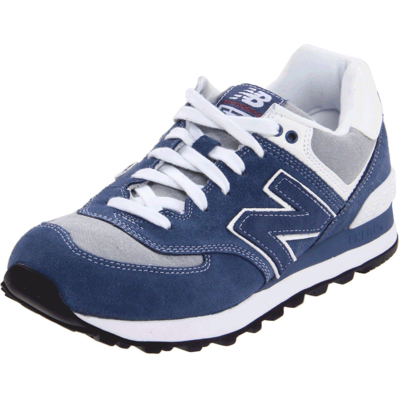 new balance wl574 work wear sneaker in blue lyst. Black Bedroom Furniture Sets. Home Design Ideas