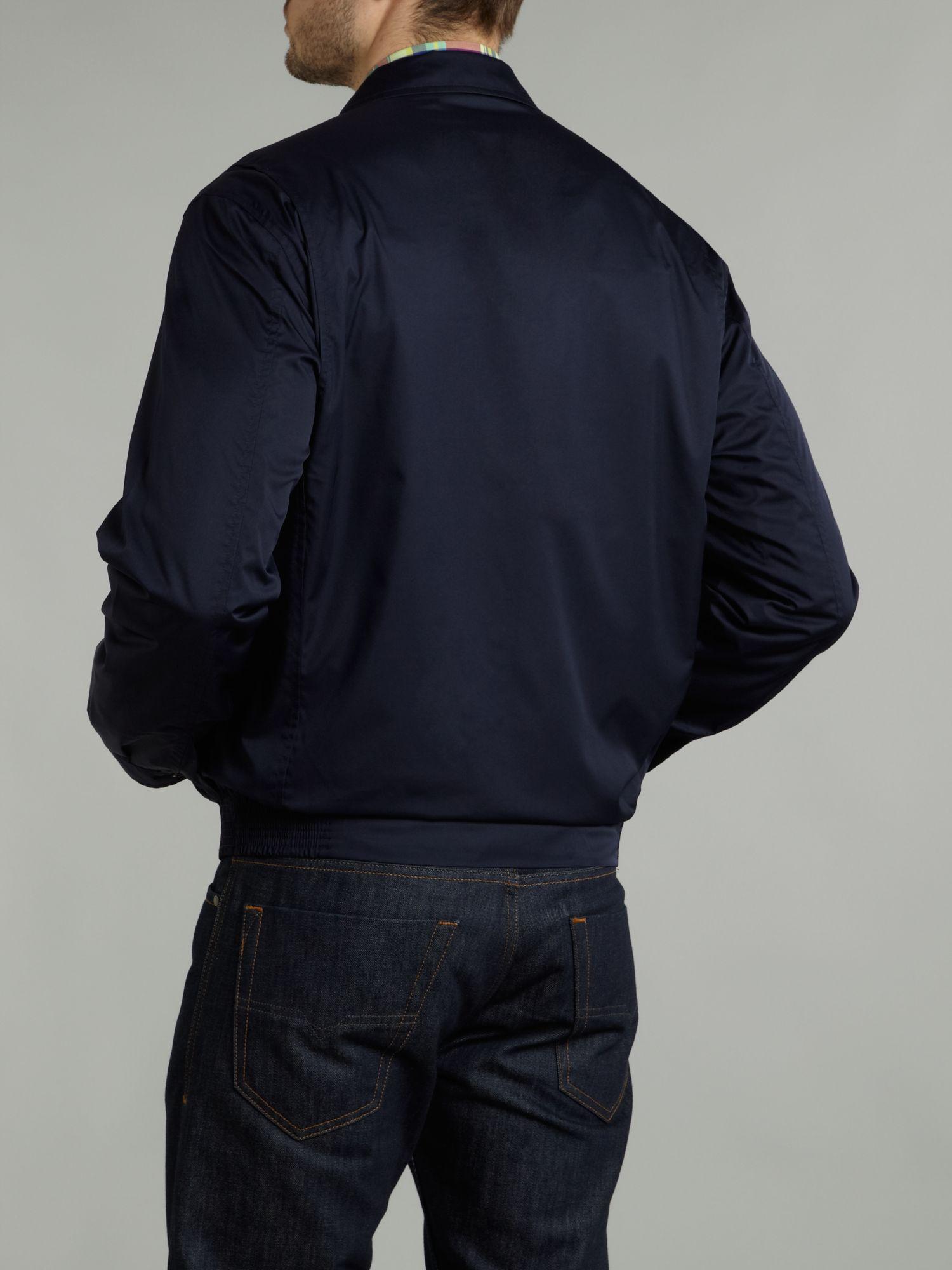 Ralph Lauren Golf Nylon Barracuda Jacket In Blue For Men