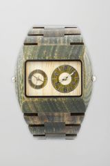 Wewood Watches Jupiter Square Wood Watch Army - Lyst