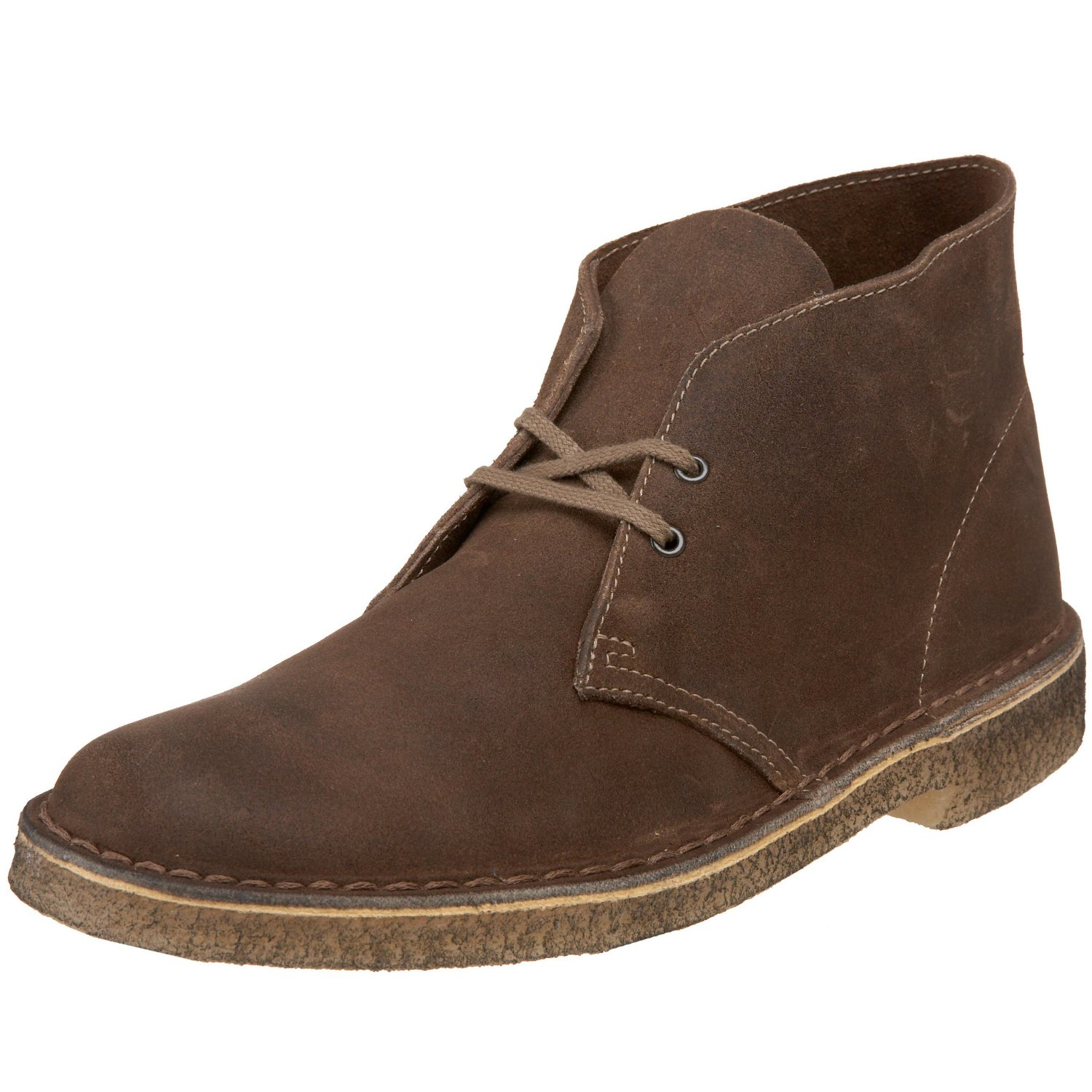 clarks desert boot in brown for men taupe suede lyst. Black Bedroom Furniture Sets. Home Design Ideas