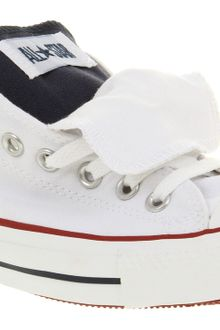 Converse All Star Ox Low Double Tongue Whtblured Smu - Lyst