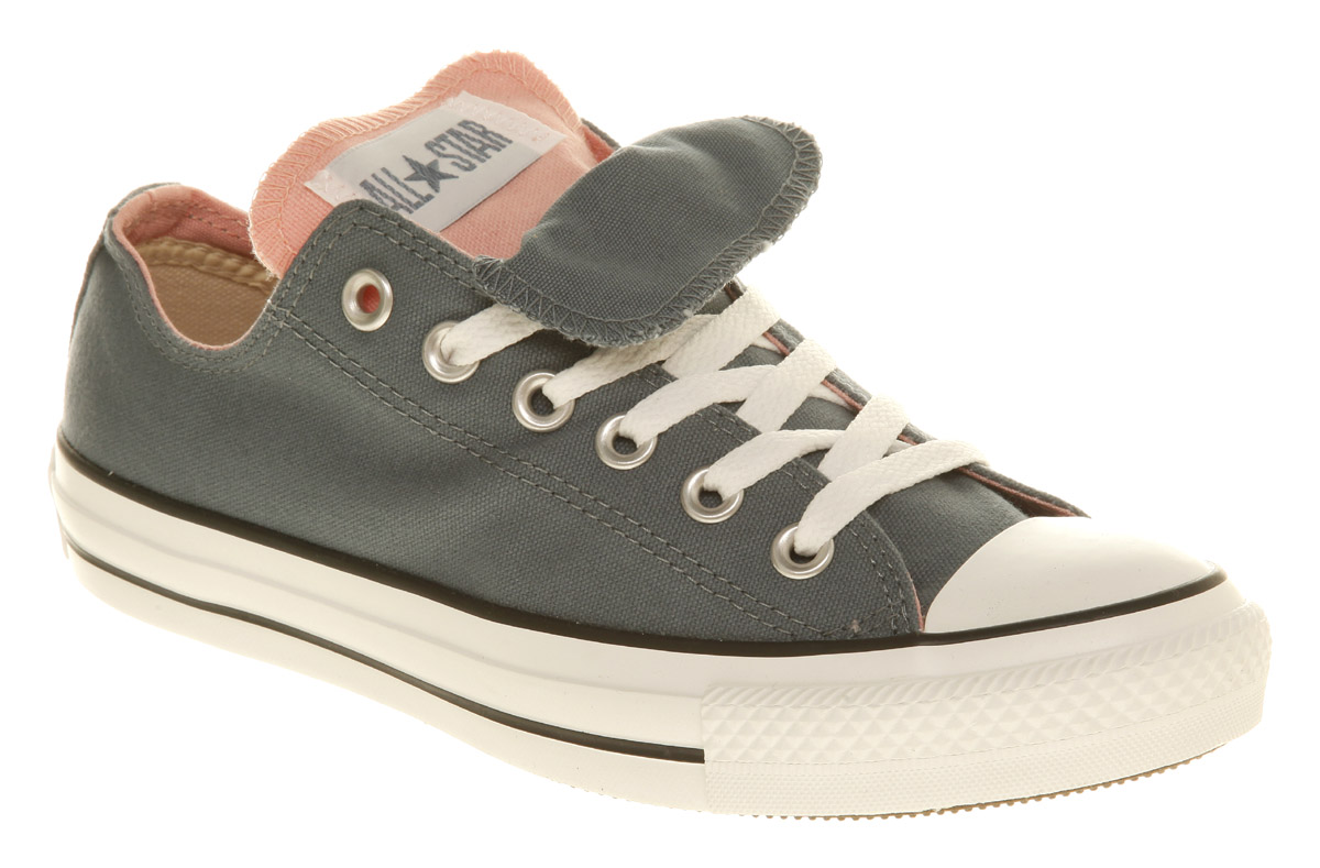 c6a65ac69a3a42 ... ebay converse all star ox low double tongue bluepink in blue for men  lyst eae1a 76554 ...