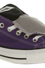 Converse All Star Ox Low Double Tongue Lakergrey Smu - Lyst