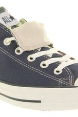 Converse All Star Ox Low Double Tongue Navyusa Smu - Lyst