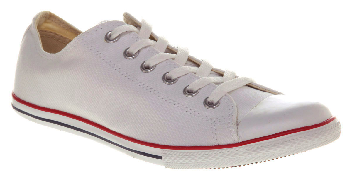 2fb43c4e5b0d Lyst - Converse Chuck Taylor Slim White in White for Men