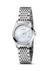 Gucci Gtimeless Stainless Steel Watch with Diamonds 27mm - Lyst