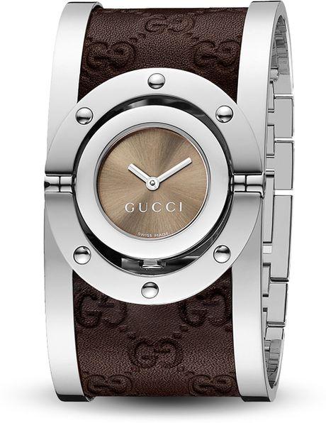 Оригинальные женские наручные часы на широком браслете из высококачественной нержавеющей стали и кожи с вращающимся