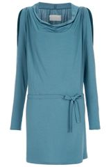 Lounge Lover Eternitees Cut Out Dress in Blue - Lyst